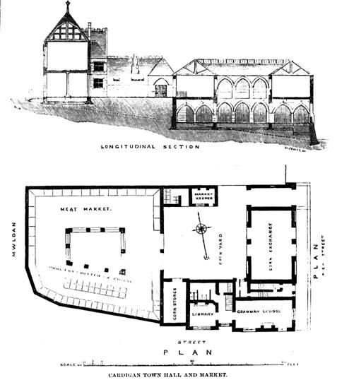 cardigan-guildhall-market-historic-layout